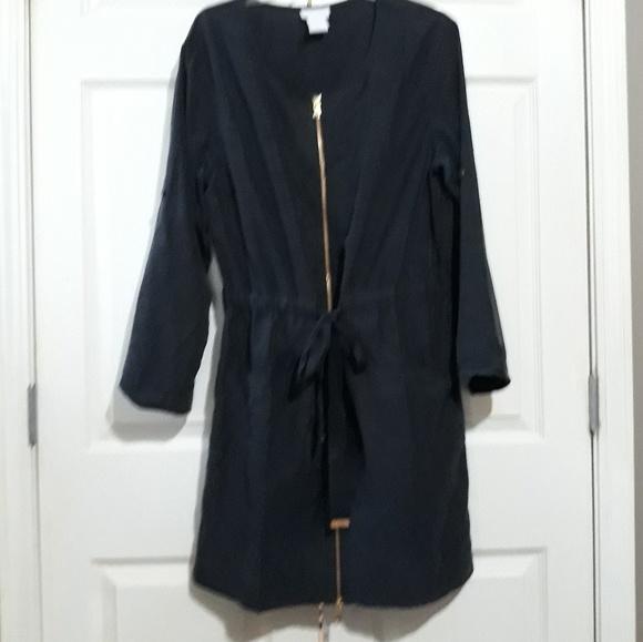 a8d9dbd6611 Soft Surroundings Dresses | Navy Zip Front Dress M | Poshmark